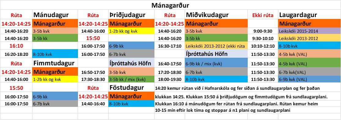 Mánagarður