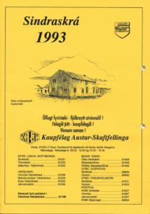 Sindraskrá 1993
