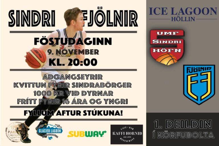 Leikur á móti Fjölni á Föstudag!
