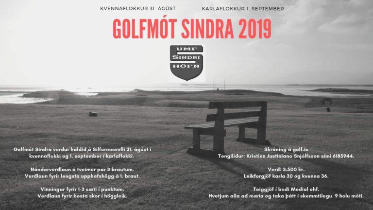 Golfmót Sindra