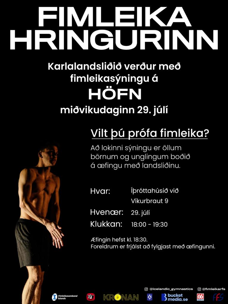 Fimleikahringurinn á Höfn í Hornafirði