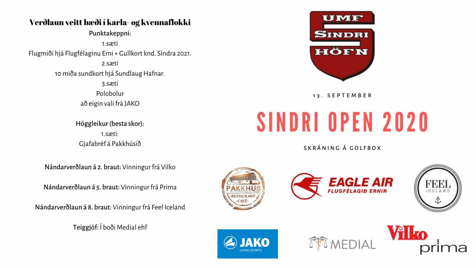 Sindri Open